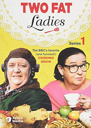 Two Fat Ladies cooking show series 1 poster